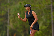 Cheyenne Woods during the fourth round of the LPGA Qualifying Tournament Stage Three at LPGA International in Daytona Beach, Florida on Dec. 5, 2015.<br /> <br /> ©2015 Scott A. Miller