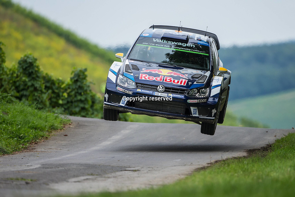 19.08.2016. Mosel, Germany. WRC ADAC rally of Germany, SS3 and SS4.  MIKKELSEN Andreas and JAEGER SYNNEVAAG Anders (VOLKSWAGEN MOTORSPORT II (DEU) / VOLKSWAGEN POLO