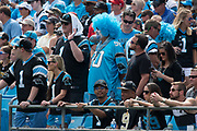 Panther fans in the New Orleans Saints 34 to 13 victory over the Carolina Panthers.