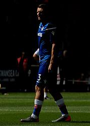 Erik Pieters of Stoke City warms up-Mandatory by-line: Nizaam Jones/JMP- 13/05/2018 - FOOTBALL - Liberty Stadium - Swansea, Wales - Swansea City v Stoke City - Premier League