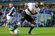 Darren Bent on the ball during the Sky Bet Championship match between Birmingham City and Derby County at St Andrews, Birmingham, England on 21 August 2015. Photo by Alan Franklin.