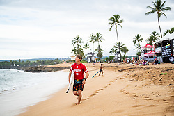 Griffin Colapinto of USA ready for heat​ ​3 ​round​ ​2 ​of the Hawaiian Pro at Haleiwa, Oahu, Hawaii, USA.