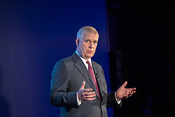 The Duke of York as he hosts a Pitch@Palace event at Buckingham Palace in London.