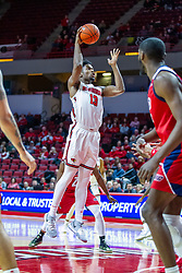 NORMAL, IL - December 18: Rey Idowu during a college basketball game between the ISU Redbirds and the UIC Flames on December 18 2019 at Redbird Arena in Normal, IL. (Photo by Alan Look)