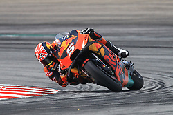 February 8, 2019 - Sepang, SGR, U.S. - SEPANG, SGR - FEBRUARY 08: Johann Zarco of Red Bull KTM Factory Racing in action during the third and final day of the MotoGP official testing session held at Sepang International Circuit in Sepang, Malaysia. (Photo by Hazrin Yeob Men Shah/Icon Sportswire) (Credit Image: © Hazrin Yeob Men Shah/Icon SMI via ZUMA Press)