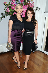 left to right, VANESSA GOLD and her sister JACQUELINE GOLD Chief Executive of the Gold Group International companies Ann Summers and Knickerbox, at the launch of Politics and The City - a new web site for women fusing politics with gossip, entertainment, news and fashion, held at the ICA, 12 Carlton House Terrace, London on 8th July 2008.<br /><br />NON EXCLUSIVE - WORLD RIGHTS