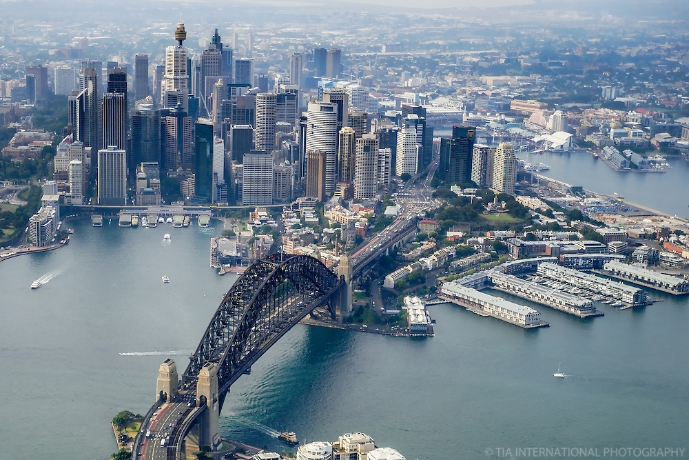 Sydney City Centre, Harbour Bridge & Walsh  Bay