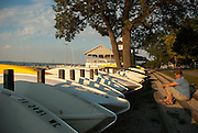 Boats by the Pavilion