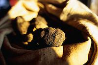 ca. 1990s, Vaucluse Department,  France --- Bag of Truffles --- Image by © Owen Franken/CORBIS
