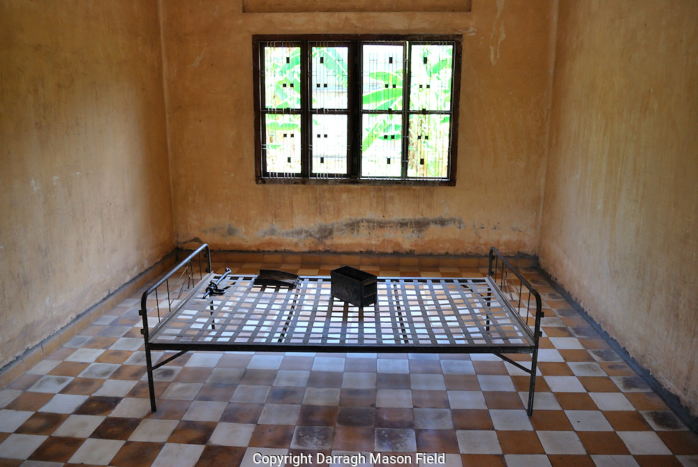 "The Tuol Sleng Genocide Museum is a museum in Phnom Penh, the capital of Cambodia. The site is a former high school which was used as the notorious Security Prison 21 (S-21)  by the Khmer Rouge regime from its rise to power in 1975 to its fall in 1979. Tuol Sleng in Khmer; means ""Hill of the Poisonous Trees"" or ""Strychnine  Hill"""