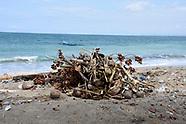 Land and Sea Pollution, Kuta, Bali, Indonesia