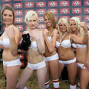 NLD/Amsterdam/20080518 - Opname strafschoppen EK Lingerie, team uit Zwitserland