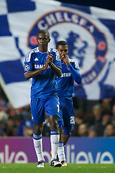 06.12.2011, Stamford Bridge, London, ENG, UEFA CL, Gruppe E, FC Chelsea (GBR) vs FC Valencia (ESP), im Bild Chelsea's Ramires celebrates scoring the second goal against Valencia CFduring the football match of UEFA Champions league, group E, between FC Chelsea (GBR) and FC Valencia (ESP), at Stamford Bridge Stadium, London, United Kingdom on 06/12/2011. EXPA Pictures © 2011, PhotoCredit: EXPA/ Sportida/ David Rawcliff..***** ATTENTION - OUT OF ENG, GBR, UK *****