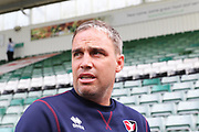 Michael Duff  during the EFL Sky Bet League 2 match between Plymouth Argyle and Cheltenham Town at Home Park, Plymouth, England on 21 September 2019.