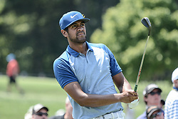 August 10, 2018 - Town And Country, Missouri, U.S - TONY FINAU from Lehi Utah, USA watches his tee shot on hole number three during round two of the 100th PGA Championship on Friday, August 10, 2018, held at Bellerive Country Club in Town and Country, MO (Photo credit Richard Ulreich / ZUMA Press) (Credit Image: © Richard Ulreich via ZUMA Wire)