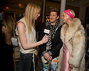 JADE PARFITT; HENRY HOLLAND; AGYNESS DEYN; , Kate Grand hosts a Love Tea and Treasure hunt at Flash. Royal Academy. Burlington Gardens. London. 10 december 2008 *** Local Caption *** -DO NOT ARCHIVE-© Copyright Photograph by Dafydd Jones. 248 Clapham Rd. London SW9 0PZ. Tel 0207 820 0771. www.dafjones.com.<br /> JADE PARFITT; HENRY HOLLAND; AGYNESS DEYN; , Kate Grand hosts a Love Tea and Treasure hunt at Flash. Royal Academy. Burlington Gardens. London. 10 december 2008