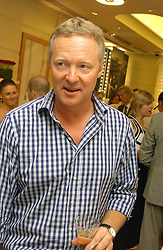 RORY BREMNER at a party hosted by Links at their store in Sloane Square, London to celebrate the forthcoming Glorious Goodwood Racing festival held on 26th July 2006.<br /><br />NON EXCLUSIVE - WORLD RIGHTS