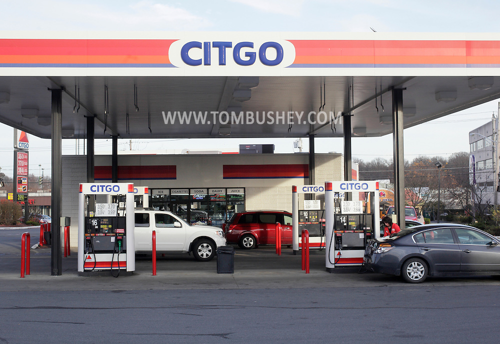 Middletown, New York  - Cars stop at a Citgo gas station and convenience store on Nov. 19, 2011