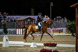 KOSCHEL Christoph (GER), Ballentines 10<br /> Münster - Turnier der Sieger 2019<br /> Preis des  BANKHAUS METZLER<br /> Nat. Dressage competition cl. S**** <br /> Grand Prix Kür/Freestyle <br /> - Flutlicht - <br /> 03. August 2019<br /> © www.sportfotos-lafrentz.de/Stefan Lafrentz