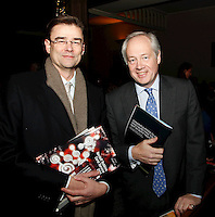 Michael Morley and Rory Tapner, Nordoff Robbins Carol Service  2011 sponsored by Coutts. London..Wednesday, 14. Dec 2011