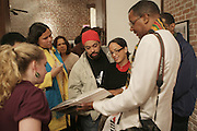 Jamel Shabazz at ' Shoot-Out: Lonely Crusade..An Homage to Jamel Shabazz ' held at The George and Leah McKenna African American Museum of Art on December 12, 2008 in New Orleans, Louisana