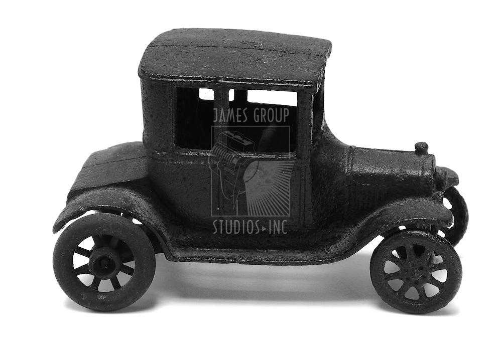 antique iron toy car