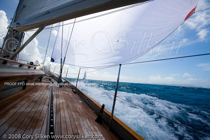 Onboard W Class Wild Horses racing at the St. Barth Bucket.