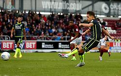 Tom Nichols of Bristol Rovers takes a penalty but misses - Mandatory by-line: Robbie Stephenson/JMP - 07/10/2017 - FOOTBALL - Sixfields Stadium - Northampton, England - Northampton Town v Bristol Rovers - Sky Bet League One