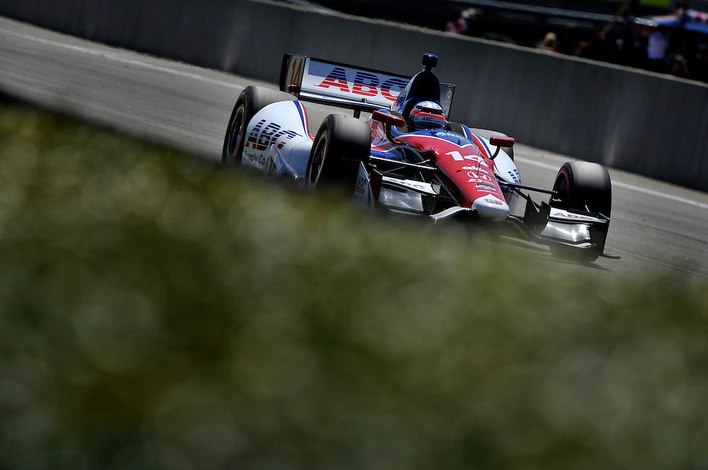 25-27 April, 2014, Birmingham, Alabama USA<br /> Takuma Sato<br /> &copy;2014 Scott R LePage <br /> LAT Photo USA