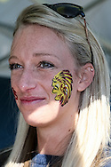 An Exeter Chiefs fan before the LV Cup Final match at Sandy Park, Exeter<br /> Picture by Andy Kearns/Focus Images Ltd 0781 864 4264<br /> 16/03/2014