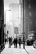 Pedestrians near Liverpool Street, London, England (October 2007)