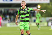 Forest Green Rovers Marcus Kelly (10) during the Vanarama National League match between Forest Green Rovers and Bromley FC at the New Lawn, Forest Green, United Kingdom on 17 September 2016. Photo by Shane Healey.