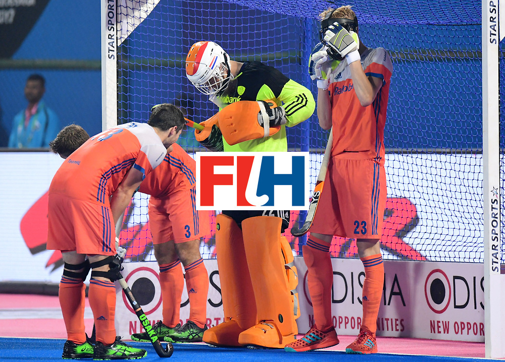 Odisha Men's Hockey World League Final Bhubaneswar 2017<br /> Match id:08<br /> Netherlands v Argentina<br /> Foto: Penalty corner<br /> WORLDSPORTPICS COPYRIGHT FRANK UIJLENBROEK