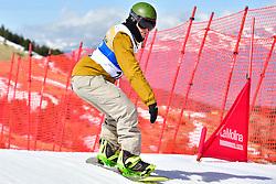 OSA MENDES Xabier, SB-UL, ESP, Snowboard Cross at the WPSB_2019 Para Snowboard World Cup, La Molina, Spain