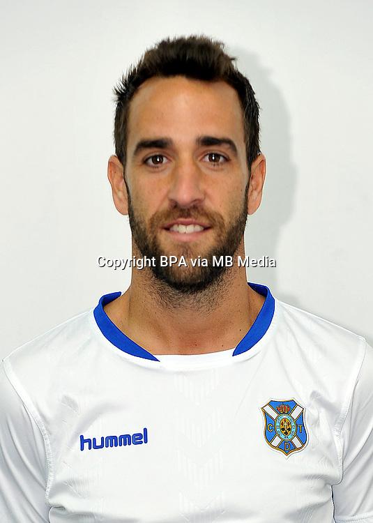 Spain - La Liga Adelante 2014-2015 / <br /> ( Club Deportivo Tenerife ) - <br /> Carlos Ruiz Aranega