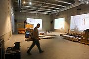Mannheim. 08.11.17 | Zum Neubau Kunsthalle<br /> Innenstadt. Kunsthalle. Pressegespräch zum Neubau der Neuen Kunsthalle. Die Eröffnung der Neuen Kunsthalle im Dezember nur mit Skulpturen - keine Gemälde wegen technischen Verzögerungen.<br /> <br /> <br /> <br /> <br /> BILD- ID 01576 |<br /> Bild: Markus Prosswitz 08NOV17 / masterpress (Bild ist honorarpflichtig - No Model Release!)