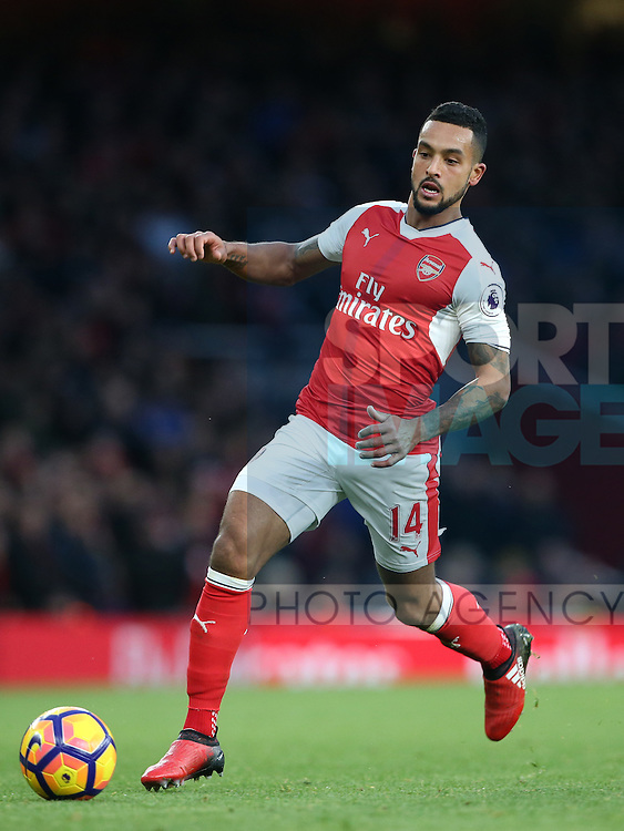 Arsenal's Theo Walcott in action during the Premier League match at the Emirates Stadium, London. Picture date October 26th, 2016 Pic David Klein/Sportimage