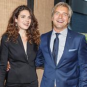 NLD/Amsterdam/20150903 - Lancering Humberto by van Gils, actrice Anna Drijver en acteur Victor Reinier
