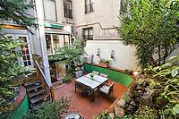 Garden at 46 West 75th St