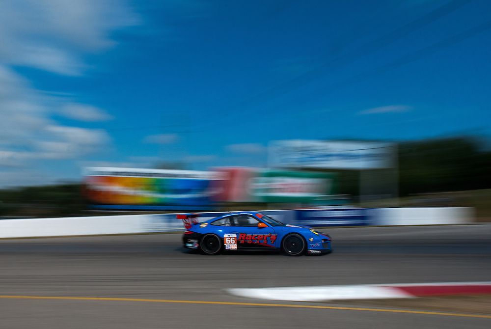23 July, 2011;  Bowmanville, Ontario, Canada;  Mobil 1 Grand Prix of Mosport, ALMS Rd4, Mosport International Raceway; TRG Porsche (66) GTC   © 2011 Scott LePage   Mandatory Credit: Scott LePage-MotorRacingPhoto