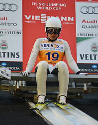 21.11.2014, Vogtland Arena, Klingenthal, GER, FIS Weltcup Ski Sprung, Klingenthal, Herren, HS 140, Qualifikation, im Bild Hyun-Ki Kim (KOR) // during the mens HS 140 qualification of FIS Ski jumping World Cup at the Vogtland Arena in Klingenthal, Germany on 2014/11/21. EXPA Pictures © 2014, PhotoCredit: EXPA/ Eibner-Pressefoto/ Harzer<br /> <br /> *****ATTENTION - OUT of GER*****