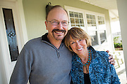 Jennifer Olszewski and Nick Marcelli celebrate their engagement with family and friends in Half Moon Bay, California, on November 15, 2015. (Stan Olszewski/SOSKIphoto)