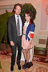 FREDDIE HESKETH and LADY VIOLET MANNERS at the Tatler Best of British party in association with Jaegar held at The Ritz, Piccadilly, London on 28th April 2015.