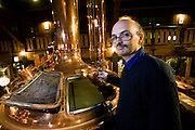 German national Johannes Braun, brewmeister at Otaru Beer, poses for a photo at the brewery-cum-beer hall in Otaru, Japan on 09 Feb. 2010.