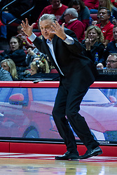 NORMAL, IL - December 18:  Steve McLain during a college basketball game between the ISU Redbirds and the UIC Flames on December 18 2019 at Redbird Arena in Normal, IL. (Photo by Alan Look)