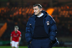 Coventry City manager Tony Mowbray  - Mandatory byline: Matt McNulty/JMP - 07966 386802 - 20/10/2015 - FOOTBALL - Gigg Lane - Rochdale, England - Rochdale v Coventry - Sky Bet League One