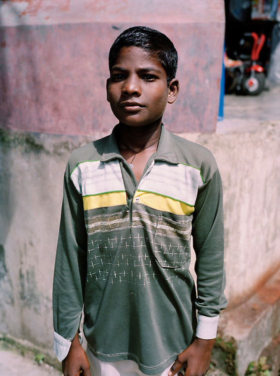 Young indian boy in Diglipoor town, North Andaman Island