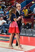 Giulia Cicchine', Guido Bagatta<br /> Vanoli Cremona - Happycasa Brindisi<br /> Finale 3° Posto Zurich Connect Supercoppa LBA 2019<br /> Bari, 22/09/2019<br /> Foto L.Canu / Ciamillo-Castoria