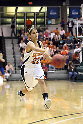 20 March 2010: Liz Ellis. The Flying Dutch of Hope College fall to the Bears of Washington University 65-59 in the Championship Game of the Division 3 Women's NCAA Basketball Championship the at the Shirk Center at Illinois Wesleyan in Bloomington Illinois.