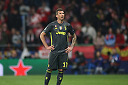 Mario Mandzukic of Juventus during the UEFA Champions League, round of 16, 1st leg football match between Atletico de Madrid and Juventus on February 20, 2019 at Wanda metropolitano stadium in Madrid, Spain - Photo Oscar J Barroso / Spain ProSportsImages / DPPI / ProSportsImages / DPPI